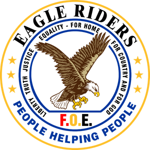 Foe Eagle Riders Logo Vector