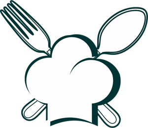 Food Chief Spoon Logo Vector