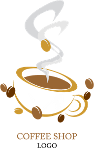 Food Coffee Shop Sheed Logo Vector