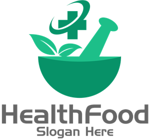 Food Health Logo Vector