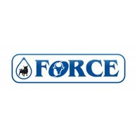 Force Gas Station Logo Vector