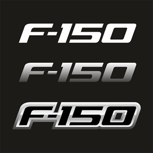 Ford F-150 2009 (new) Logo Vector