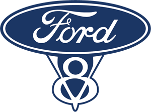 Ford V8 Logo Vector