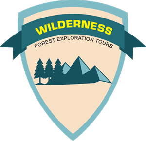 Forest exploration tours Logo Vector