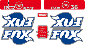 Fox 36 RC2 Float 2007 - MTB Fork Decals Logo Vector