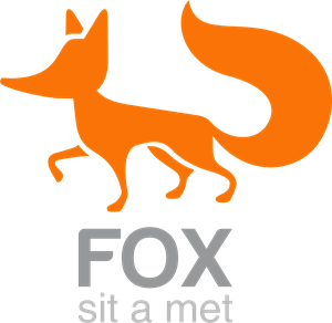 fox design Logo Vector