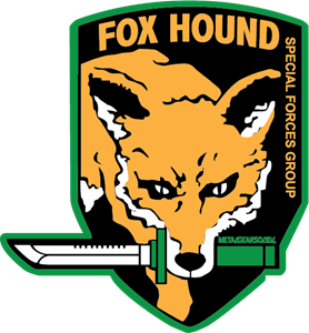 Fox Hound Special Forces Group Logo Vector