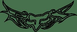 fox racing logo vector ai free download