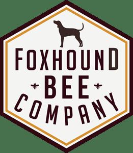 Foxhound Bee Company Logo Vector