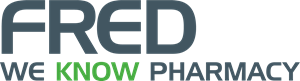 Fred We Know Pharmacy Logo Vector