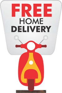 Free Home Delivery Logo Vector