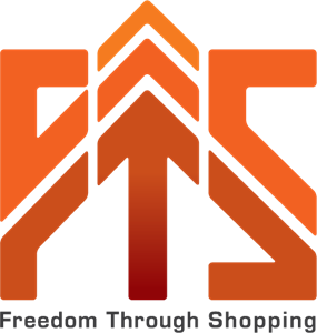 Freedom Through Shopping Logo Vector