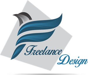 Freelance Design Logo Vector