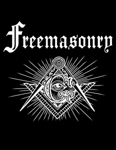 Freemasonry, Masonic Blue Lodge Logo Vector