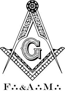 Freemasonry, Masonic F&AM Blue Lodge Logo Vector