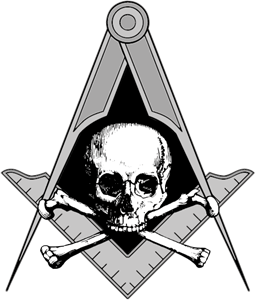 Freemasonry, Masonic Memento Mori, Blue Lodge Logo Vector