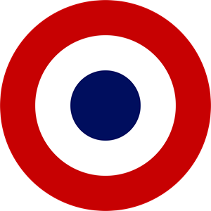 French Air Force Logo Vector