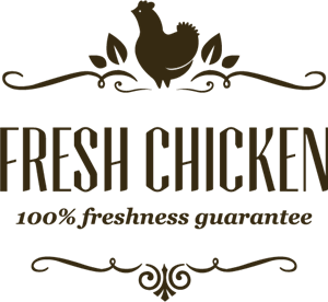 Fresh Chicken Logo Vector