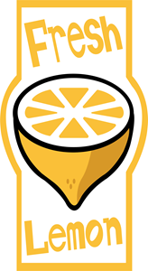 Fresh Lemon Logo Vector