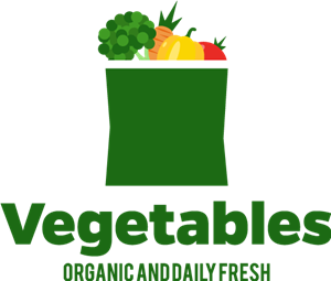 Fresh vegetables Logo Vector