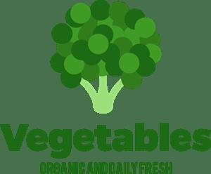 fresh vegetables logo vector eps free download