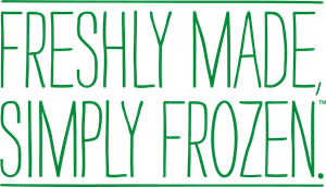 Freshly Made, Simply Frozen. Logo Vector