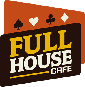 Full House Cafe Logo Vector