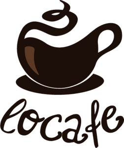 Funky Warm Cafe Logo Vector