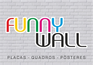 Funny Wall Logo Vector