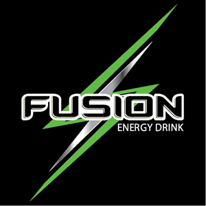 Fusion Energy Drink Logo Vector