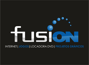 FusiON - LAN HOUSE & DESIGN Logo Vector
