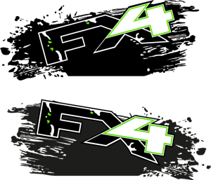FX4 Raptor Wrap Logo Vector