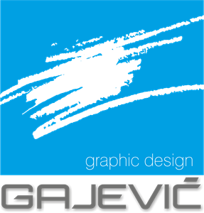GAJEVIC graphic design Logo Vector