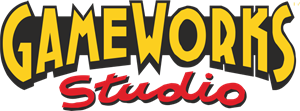 Game Works Studio Logo Vector