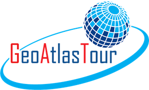 Geo Atlas Tour Logo Vector