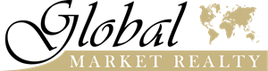 Global Market Realty Logo Vector