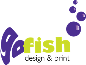Go Fish Design & Print Logo Vector