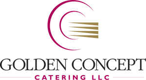 Golden Concept Catering Logo Vector