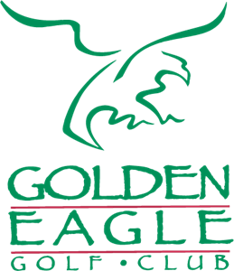 Golden Eagle Golf Club Logo Vector