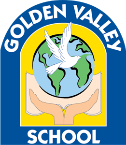 Golden Valley School Logo Vector