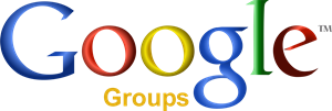 Google Groups Logo Vector