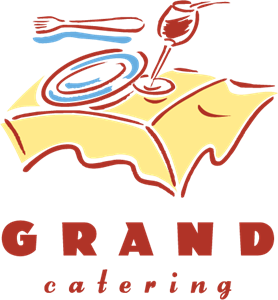 Grand Catering Logo Vector