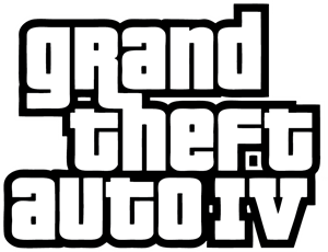 Grand Theft Auto 4 Logo Vector