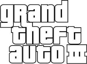 Grand Theft Auto III Logo Vector