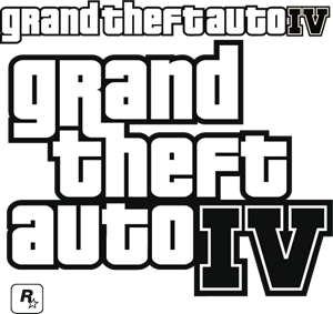 Grand Theft Auto IV - GTA IV Logo Vector