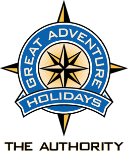 Great Adventure Holidays Logo Vector