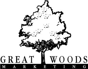 Great Woods Marketing Logo Vector
