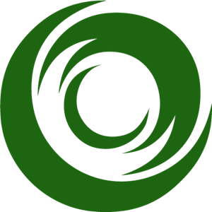 Green Graph Logo Vector