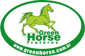 Green Horse Logo Vector
