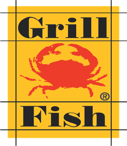 Grill Fish Logo Vector